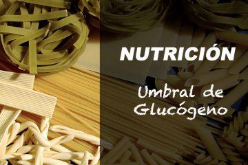 umbral glucogeno
