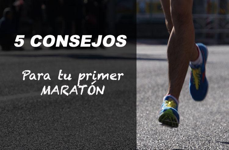5 consejos preparar primer maraton running