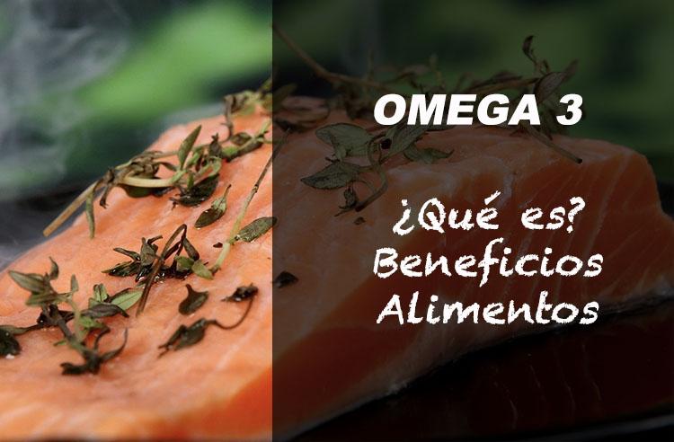 OMEGA 3 que es beneficios alimentos correr