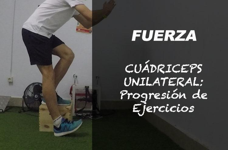 cuadriceps corredores progresion ejercicios una pierna