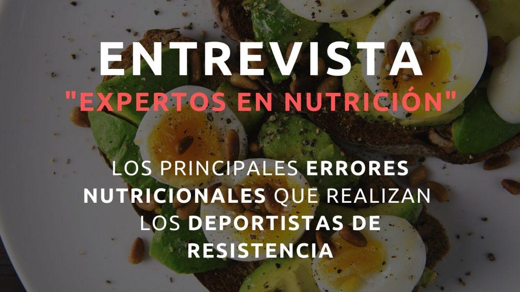 entrevista nutricion deportiva aitor viribay carlos ferrando laura chaparro nutrium andrea gilmond glut4science